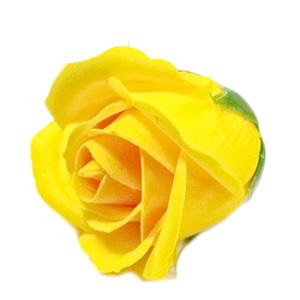 Trandafiri sapun galben, 5cm 1 buc