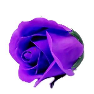 Trandafiri sapun violet, 5cm 1 buc