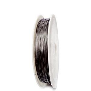 Sarma siliconata gri, 0.38 mm-rola aprox 50m 1 buc