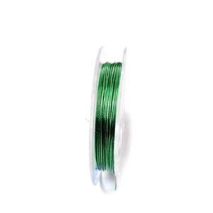 Sarma siliconata verde, 0.38 mm-rola aprox 10m 1 buc