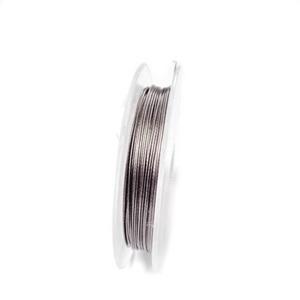 Sarma siliconata gri, 0.38 mm-rola aprox 10m 1 buc