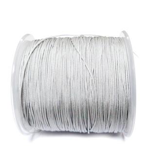 Snur Shamballa, Dandelion, argintiu, grosime 0.5mm 1 m