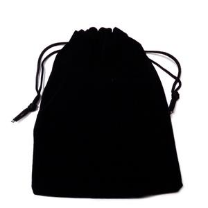 Sac catifea neagra, 15x11cm, interior 13x11cm 1 buc