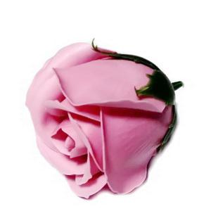 Trandafiri sapun, roz-somon, 5cm 1 buc