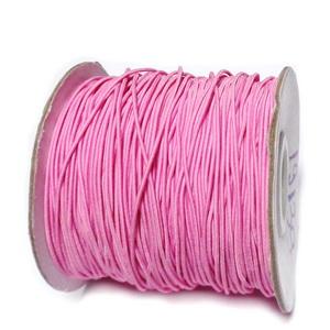 Ata elastica roz, 1mm 1 m