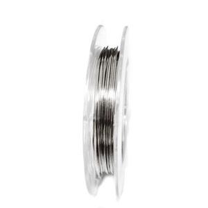 Sarma modelaj argintie, 0.4mm-rola 5m 1 buc