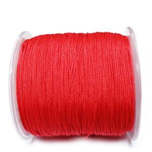 Snur Shamballa, Dandelion, rosu, grosime 0.5mm-bobina 180m 1 buc