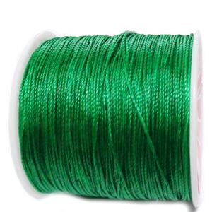 Snur Shamballa, verde, grosime 0.5mm 1 m