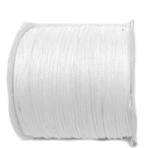 Snur Shamballa, alb, grosime 0.5mm 1 m