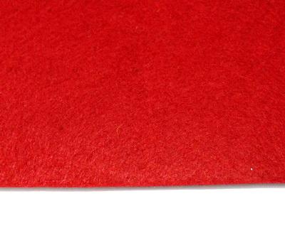 Fetru rosu, foaie 30x30cm, grosime 2 mm 1 buc