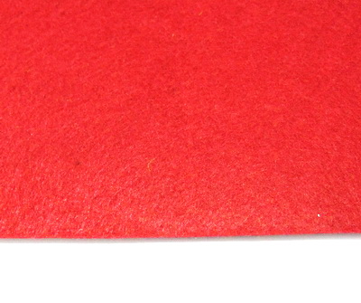 Fetru rosu, foaie 30x30cm, grosime 1 mm 1 buc