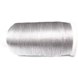 Ata polyester argintiu metalizat, 0.2 mm-mosor cca 1200 metri 1 buc