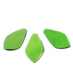 Frunzulita piele verde, 30x18x1mm 1 buc