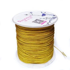 Snur Shamballa, Dandelion, auriu, grosime 0.5mm-bobina 180m 1 buc