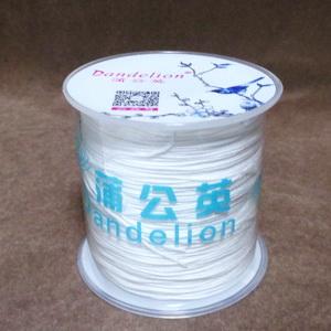 Snur Shamballa, Dandelion, alb, grosime 0.5mm-bobina 180m 1 buc