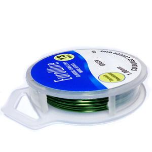 Sarma modelaj NON TARNISH, verde, 1 mm-rola 4m 1 buc