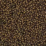 Margele TOHO - rotunde 11/0 : Frosted Bronze 20 g