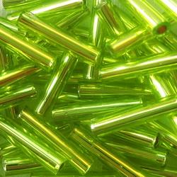 Margele tubulare, TOHO, 9mm,  Lime Green 20 g