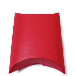 Cutie cadou carton rosu, perna, 9x10x3.5cm 1 buc