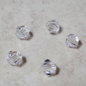 Margele Preciosa biconice Crystal - 4mm 1 buc