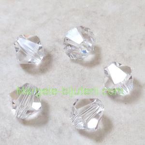 Margele Preciosa biconice Crystal - 6mm 1 buc
