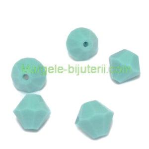 Margele Preciosa biconice Turquoise - 6mm 1 buc