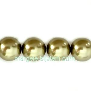 Perle Preciosa Light Green 6mm 1 buc
