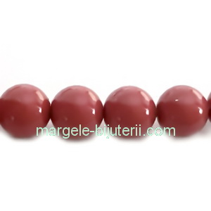 Perle Preciosa Cranberry 6mm 1 buc