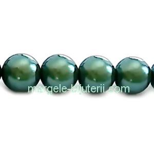 Perle Preciosa Pearlescent Green 8mm 1 buc