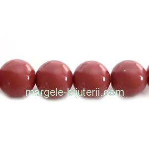 Perle Preciosa Cranberry 8mm 1 buc