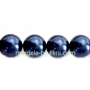 Perle Preciosa Blue 10mm 1 buc