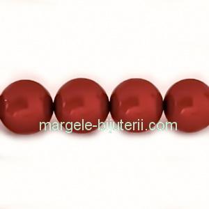 Perle Preciosa Red 10mm 1 buc