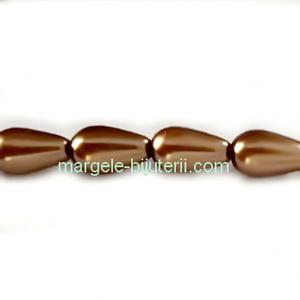Perle Preciosa Bronze 6x10mm 1 buc