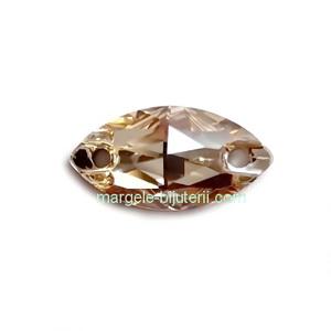 Link Preciosa ochi de cal Crystal Honey 12x6mm 1 buc