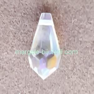 Pandantiv Preciosa 984 Crystal AB  9x18mm 1 buc