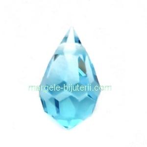 Pandantiv Preciosa 681 Aqua Bohemica 6x10mm 1 buc