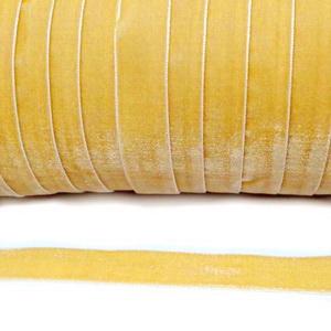 Panglica catifea, aurie,  1.5cm 1 m
