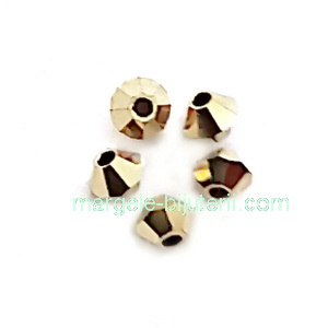 Margele Preciosa biconice Aurum full - 3mm 1 buc