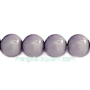 Perle Preciosa Ceramic Grey 10mm 1 buc