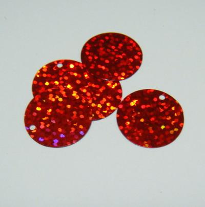 Paiete rosii 20 mm - aproximativ 50 buc 5 g
