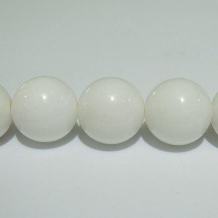 Sidef alb sferic 12mm 1 buc
