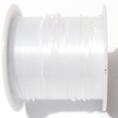 Fir nylon/guta neelastica, transparent, 1 mm, bobina 5 metri 1 buc