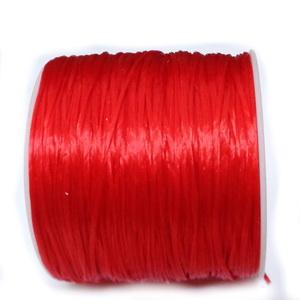 Fir elastic rosu 0.8 mm, bobina 70 metri 1 buc