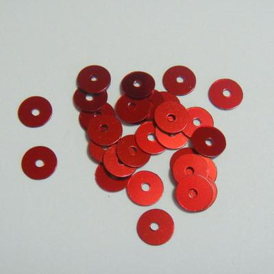 Paiete rosii 6mm -cca 100 buc 1 g