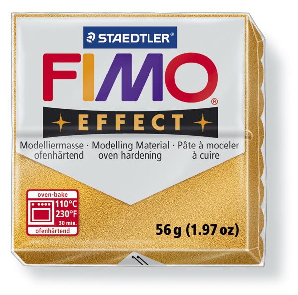Plastelina fimo effect 56g cod cul 11 auriu 1 buc