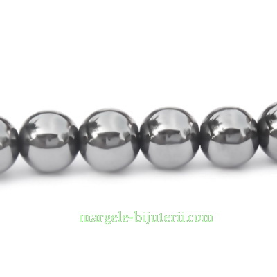 Hematite sferice nemagnetice, 8,5mm 1 buc