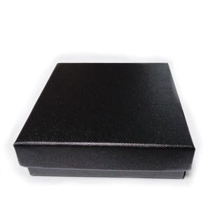 Cutie cadou neagra, 8.5x8.5x2.5cm 1 buc