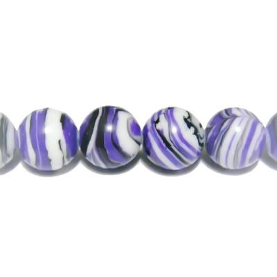 Compozit mov, sfere 8mm 1 buc