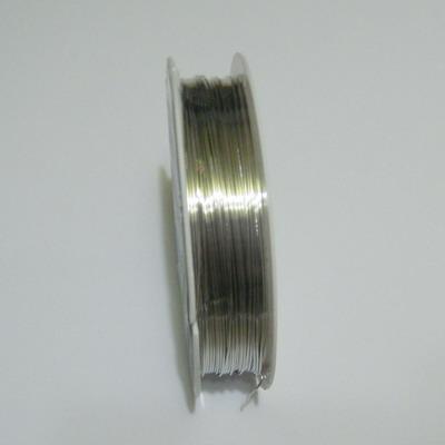 Sarma modelaj argintie 0.5 mm-rola aproximativ  9metri 1 buc