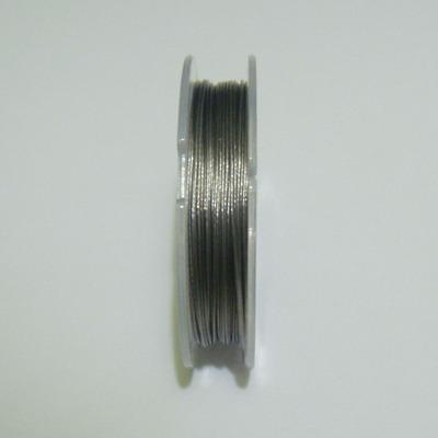 Sarma siliconata argintie 0.38mm 1 rola 9 m